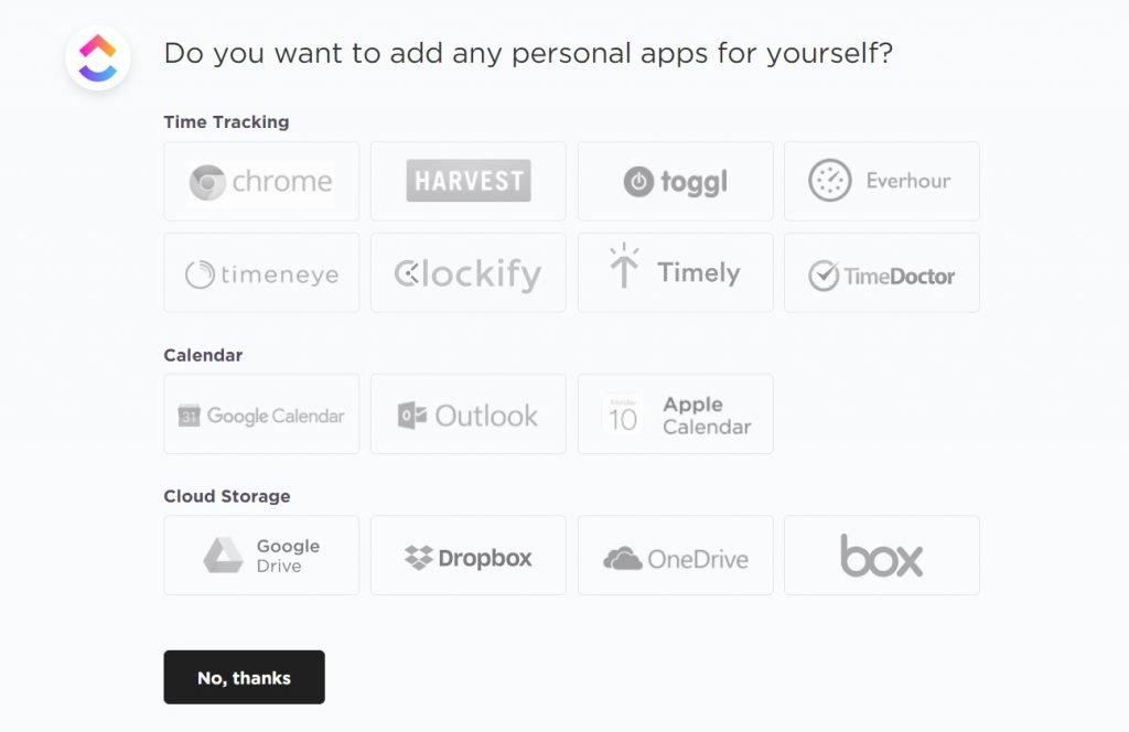 clickup integration
