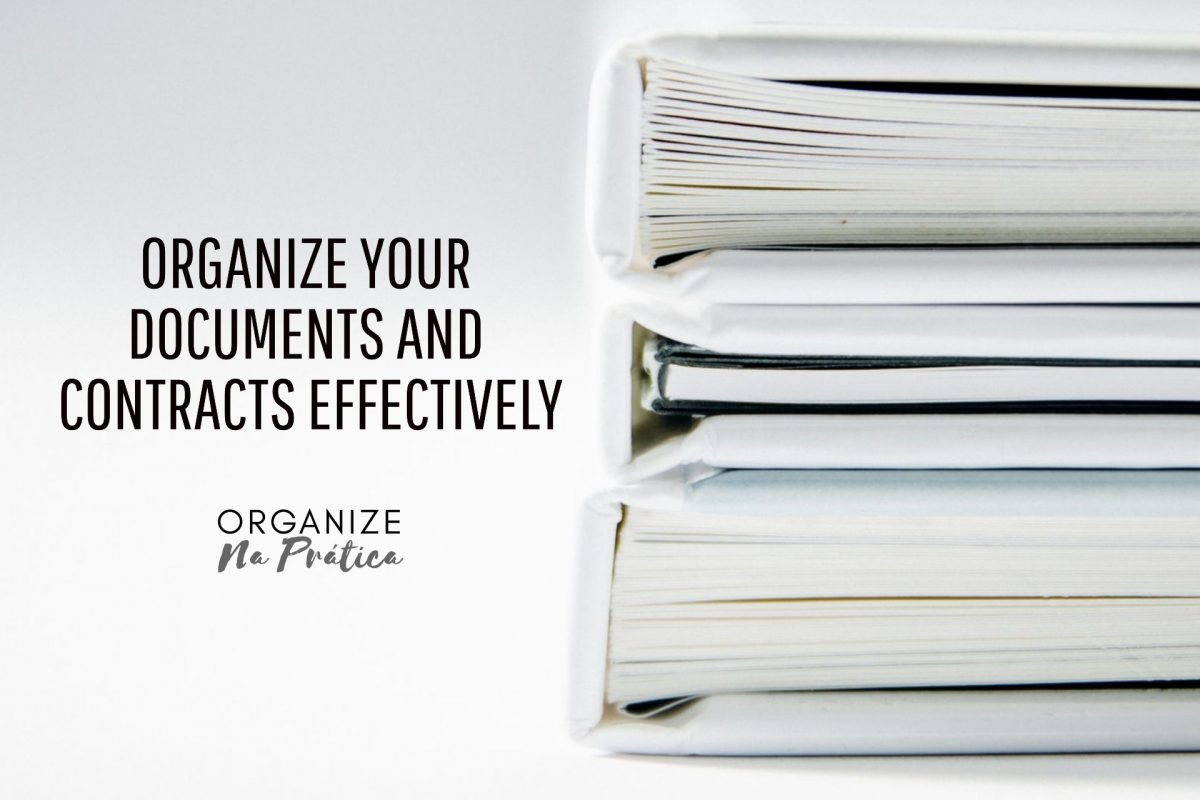 organize your documents and contracts