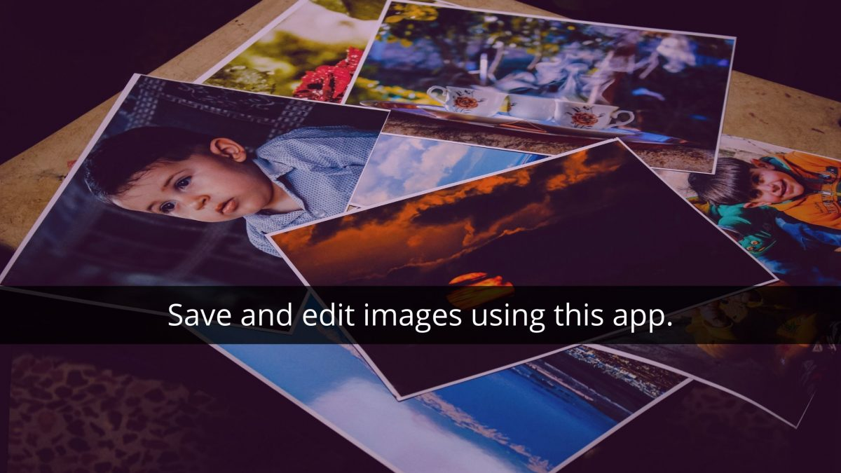 Evernote tips - save and edit images