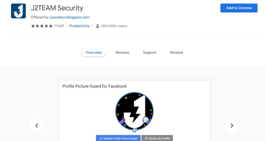 J2TEAM Security - Google Chrome Extensions