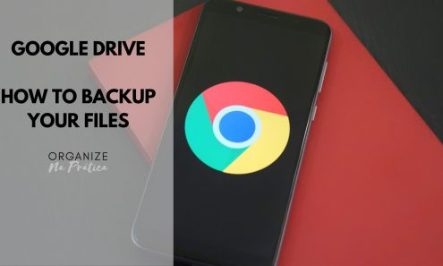 Google Drive - how to backup your files