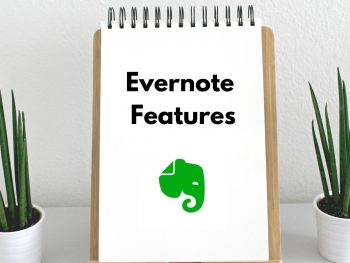 Evernote features - never more forget your passwords